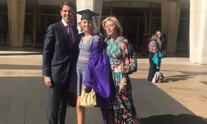 Μαρία Ολυμπία: Η κόρη του Παύλου και της Marie Chantal αποφοίτησε από το Πανεπιστήμιο (vid+pics)