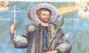 Το ιερό λείψανο του Αγίου που πέταξαν οι Τούρκοι σε χώρο ακαθαρσιών