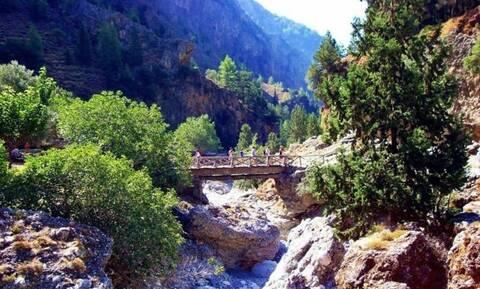 Κρήτη: Νεκρός τουρίστας στο φαράγγι της Σαμαριάς