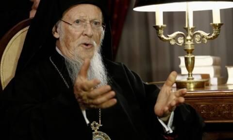Συνάντηση του Οικουμενικού Πατριάρχη Βαρθολομαίου με τον Αρχιεπίσκοπο Ιερώνυμο