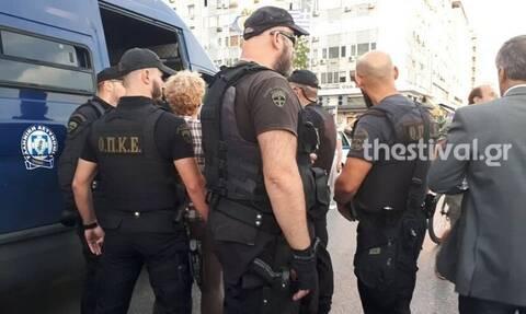 Θεσσαλονίκη: Συλλήψεις διαδηλωτών στο περιθώριο της ομιλίας Τσίπρα