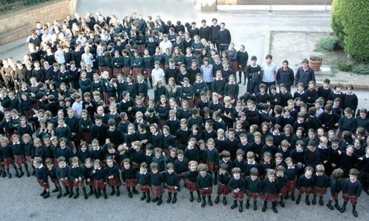 Δεν φαντάζεστε τι μάθημα κάνουν τα αγόρια σε αυτό το σχολείο (pics)
