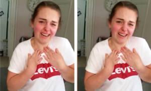 Η έφηβη με επιληψία ξεσπά σε κλάματα βλέποντας το δώρο της μαμάς της (vid)