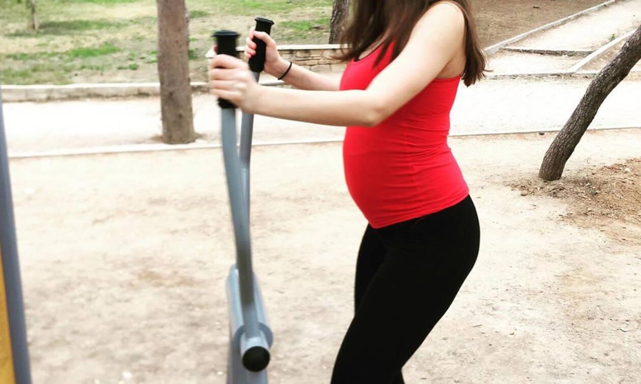 Ελληνίδα ηθοποιός: «Μετά τη μάσα και λίγη γυμναστική ρε παιδί μου» (pics)