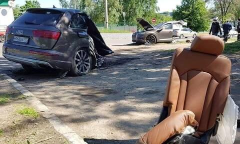 Απίστευτο: Kαι όμως βγήκε ζωντανός μετά από αυτό το ατύχημα!