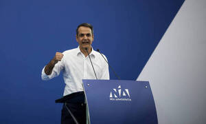 ND's Mitsotakis promises lower ENFIA as of 2020