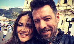 Ο Μάνος Παπαγιάννης «ξαναχτύπησε»: Δείτε τη φάρσα που έκανε στην γυναίκα και την κόρη του (pics+vid)