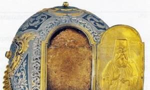 Η θαυματουργή Κάρα του Οσίου Ιωακείμ στο Βατοπαίδι