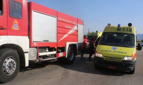 Ροδόπη: Φρικτό τροχαίο με έναν νεκρό στην Εγνατία Οδό