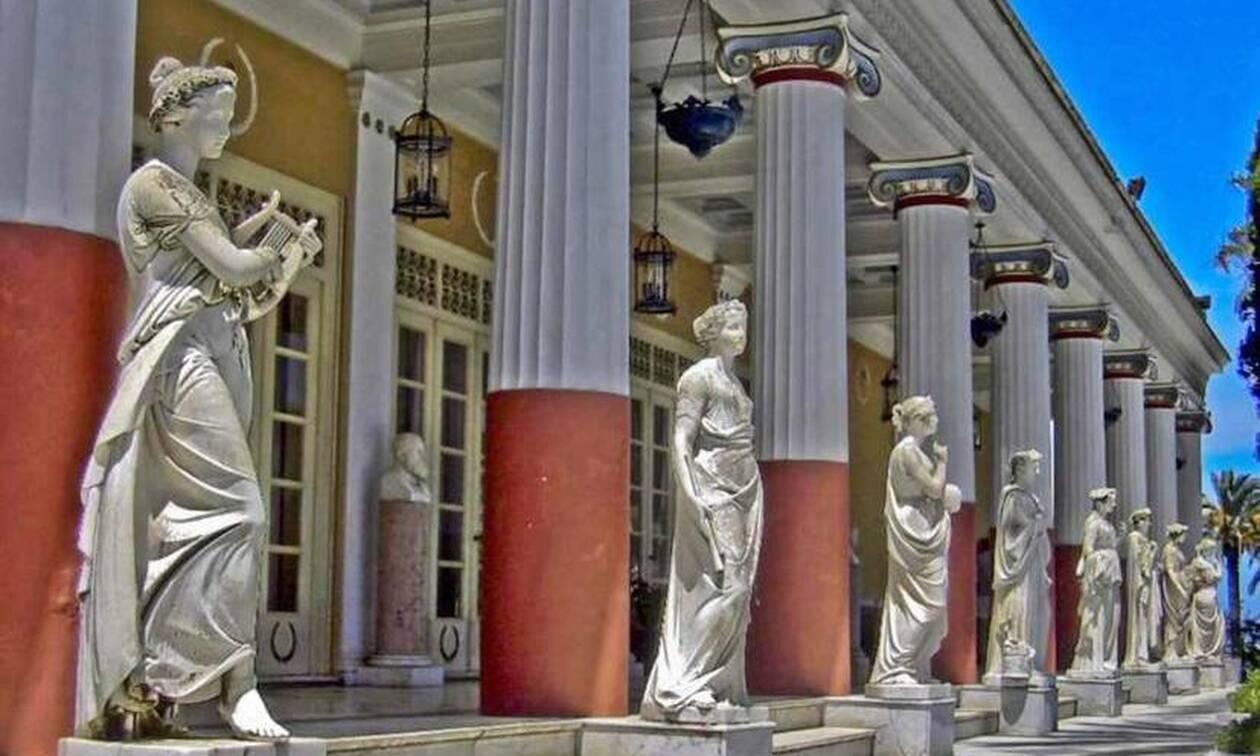 Αχίλλειο - Κέρκυρα: Ένα παλάτι-αφιέρωμα στον Αχιλλέα