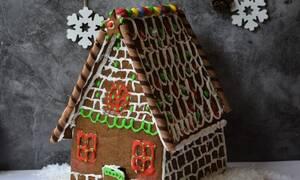 Η συνταγή της ημέρας: Gingerbread house