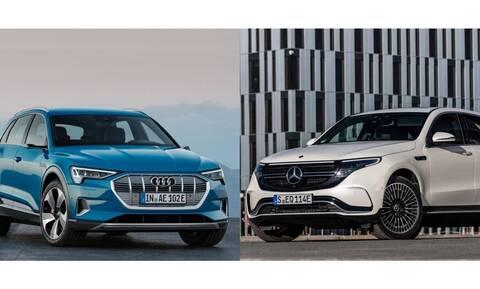 Ποιο ηλεκτρικό SUV είναι πιο ακριβό, το Audi e-tron ή η Mercedes EQC;