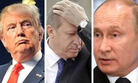 Ερντογάν όπως...  Καντάφι! Οι ΗΠΑ «σβήνουν» την Τουρκία - Δραματικές εξελίξεις