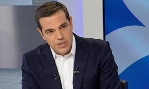 LIVE: Η συνέντευξη του Αλέξη Τσίπρα στην ΕΡΤ