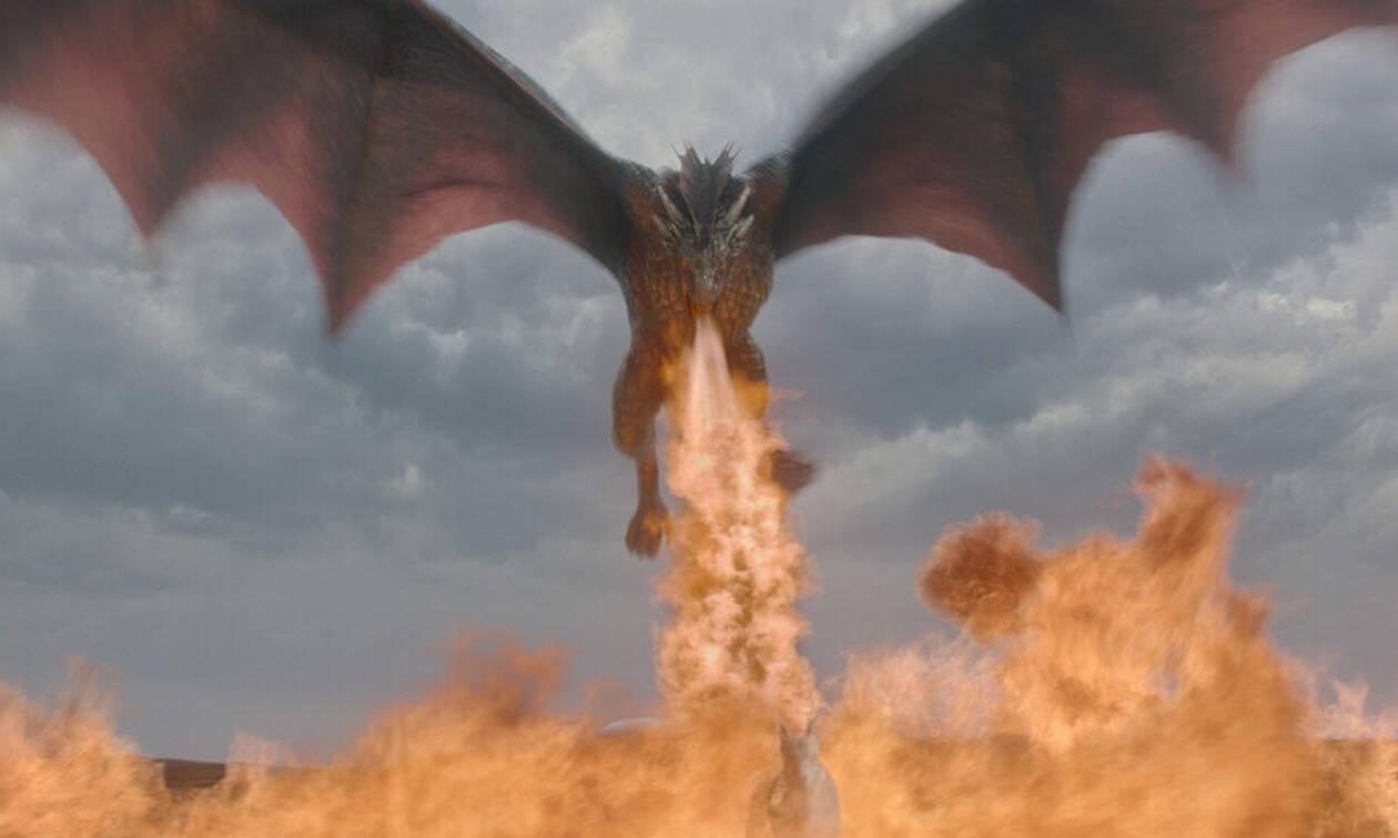 Τρομερό βίντεο: Ο Δράκος του Game of Thrones κάνει επίθεση στην Αθήνα! (vid)