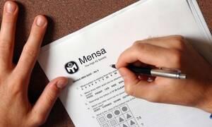 Ανήκεις στο ευφυέστερο 2% του πληθυσμού; Κάνε το τεστ της Mensa!