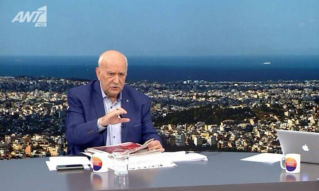 Έξω φρενών ο Γιώργος Παπαδάκης: «Κάθαρμα θα σου κάνω μήνυση»