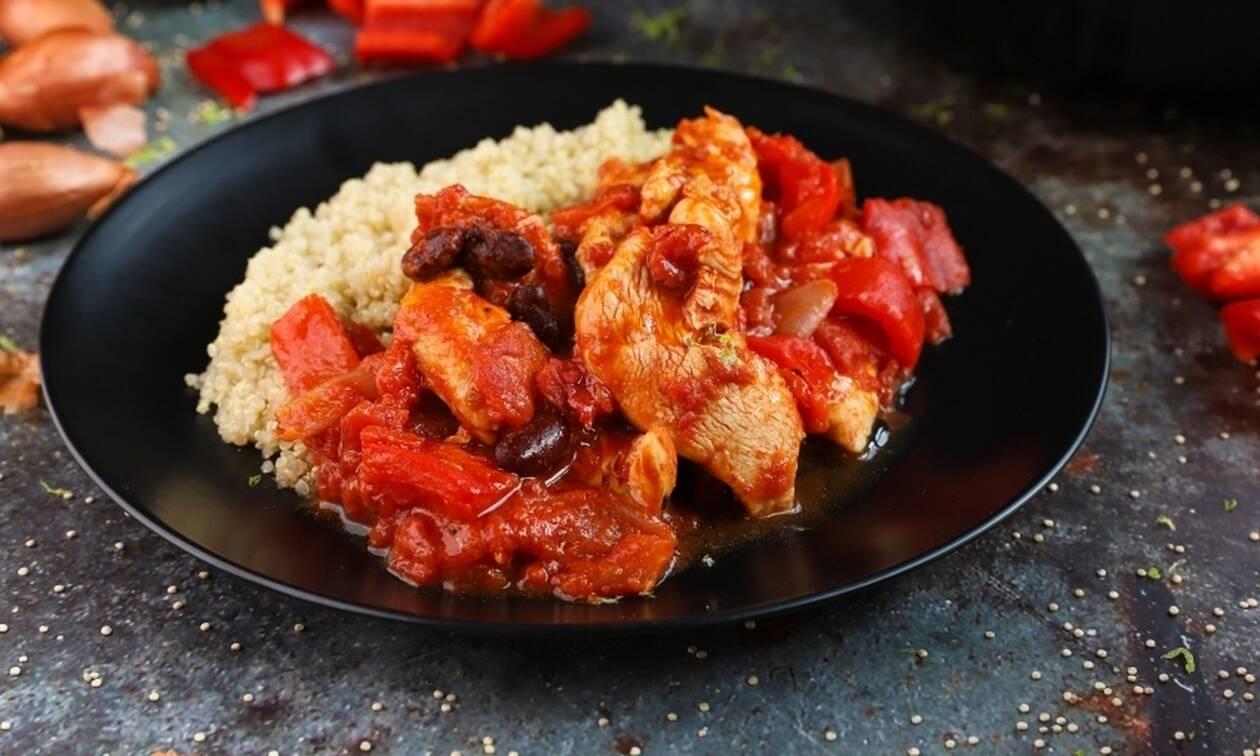 Η συνταγή της ημέρας: Κοτόπουλο με κινόα