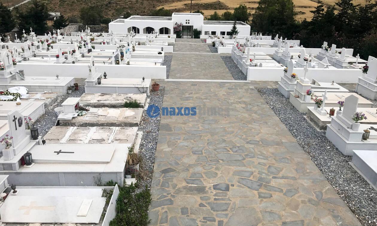 Εικόνες - ΣΟΚ: Σε αυτό το νεκροταφείο της Ελλάδας δεν λιώνουν οι νεκροί
