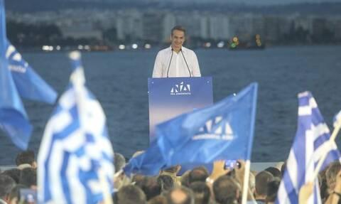 Μητσοτάκης: Αναλαμβάνω την ευθύνη να ενώσω τους Έλληνες και να γράψουμε μαζί ιστορία