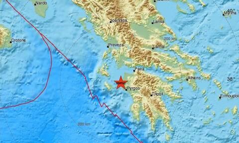 Σεισμός ΤΩΡΑ στην Ηλεία: Κοντά στα Λεχαινά το επίκεντρο - Αισθητός σε αρκετές περιοχές (pics)