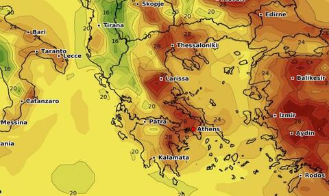 Καιρός: Καρέ - καρέ η περαιτέρω άνοδος της θερμοκρασίας. Πώς θα μπει ο Ιούνιος; (videos)