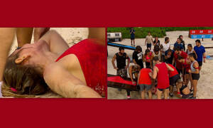 Survivor: Το τραγικό ατύχημα παίκτριας! Οι κραυγές της και το σοκ των συμπαικτών της (Pics & Vid)