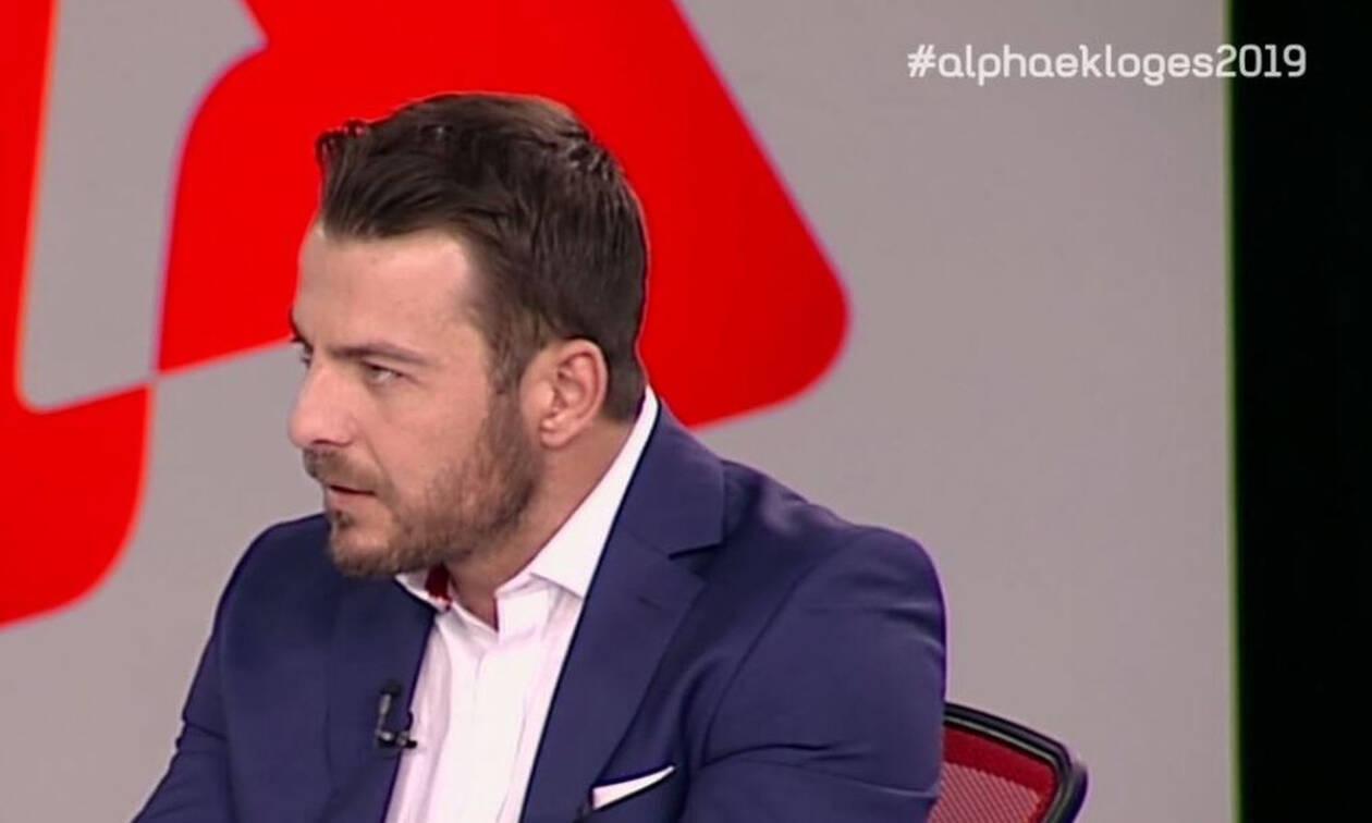 Εκλογές 2019: Ο Γιώργος Αγγελόπουλος είναι μέσα σε όλα - Τώρα και στο εκλογικό πάνελ του ALPHA