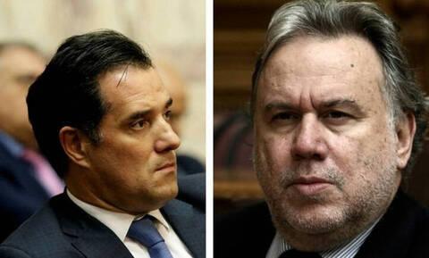 Αποτελέσματα εκλογών 2019: Άγριος καβγάς - «Πλακώθηκαν» στον «αέρα» Άδωνις και Κατρούγκαλος (vid)