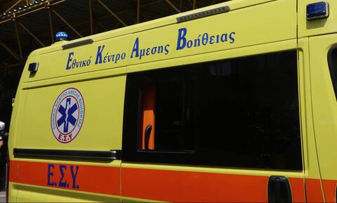 Ηράκλειο: Τροχαίο με σοβαρά τραυματίες
