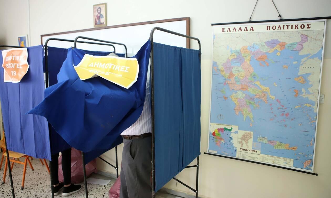 Αποτελέσματα εκλογών 2019: Όλη η Ελλάδα έχει χρώμα… μπλε – Δείτε το χάρτη