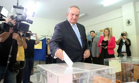 Αποτελέσματα ευρωεκλογών 2019: Συγχαρητήρια Καραμανλή και Μεϊμαράκη στον Κυριάκο Μητσοτάκη