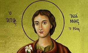 Ο Όσιος Ιωάννης ο Ρώσος και τα θαύματά του