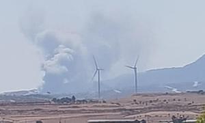 Κύπρος: Φωτιά εκτός ελέγχου σε εργοστάσιο στην επαρχία Λάρνακας