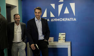 We will not change strategy, we will remain moderate and responsible, ND leader Mitsotakis says
