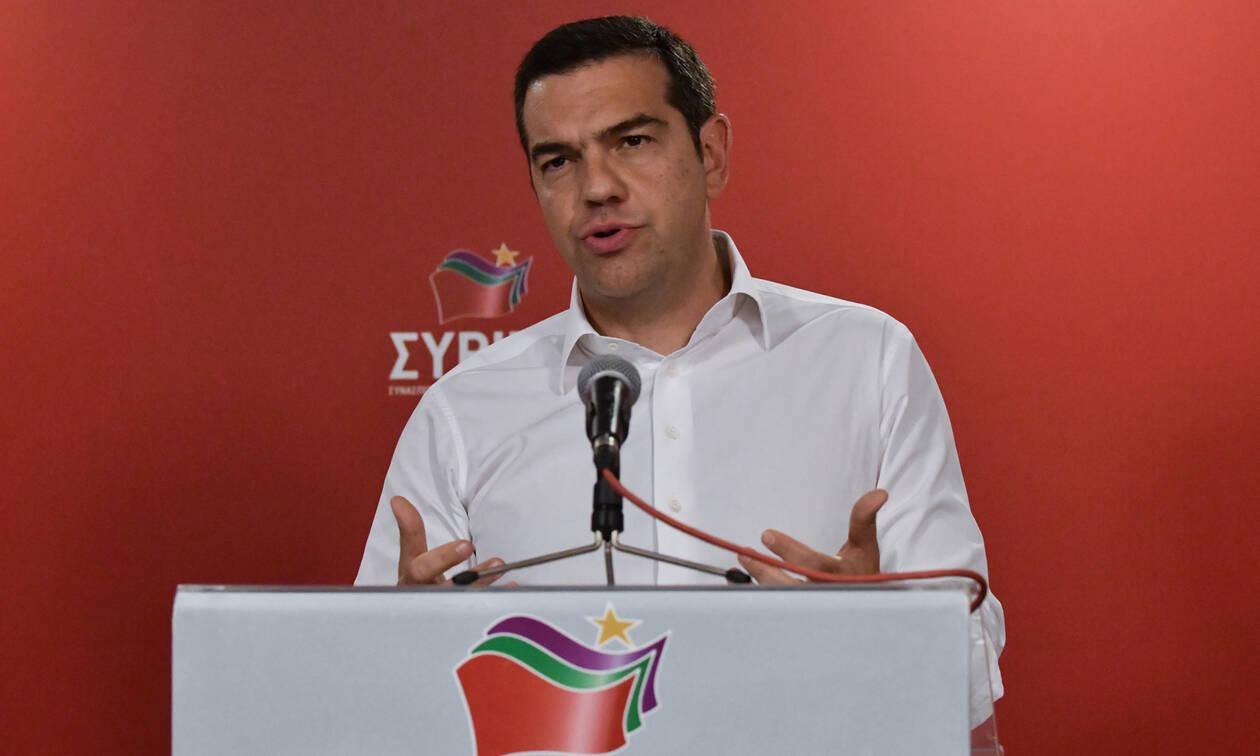 Τσίπρας στην ΚΕ: «Μαζί να σηκωθούμε, ν' ανασυγκροτηθούμε και να παλέψουμε».