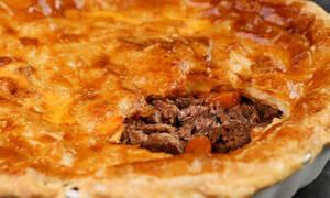 Η συνταγή της ημέρας: Πίτα με μοσχάρι