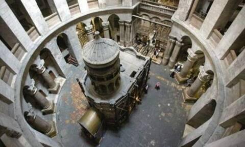 Υπεγράφη συμφωνία για τις εργασίες στο Ιερό Κουβούκλιο - Συγκλονιστικές εικόνες από τον Πανάγιο Τάφο