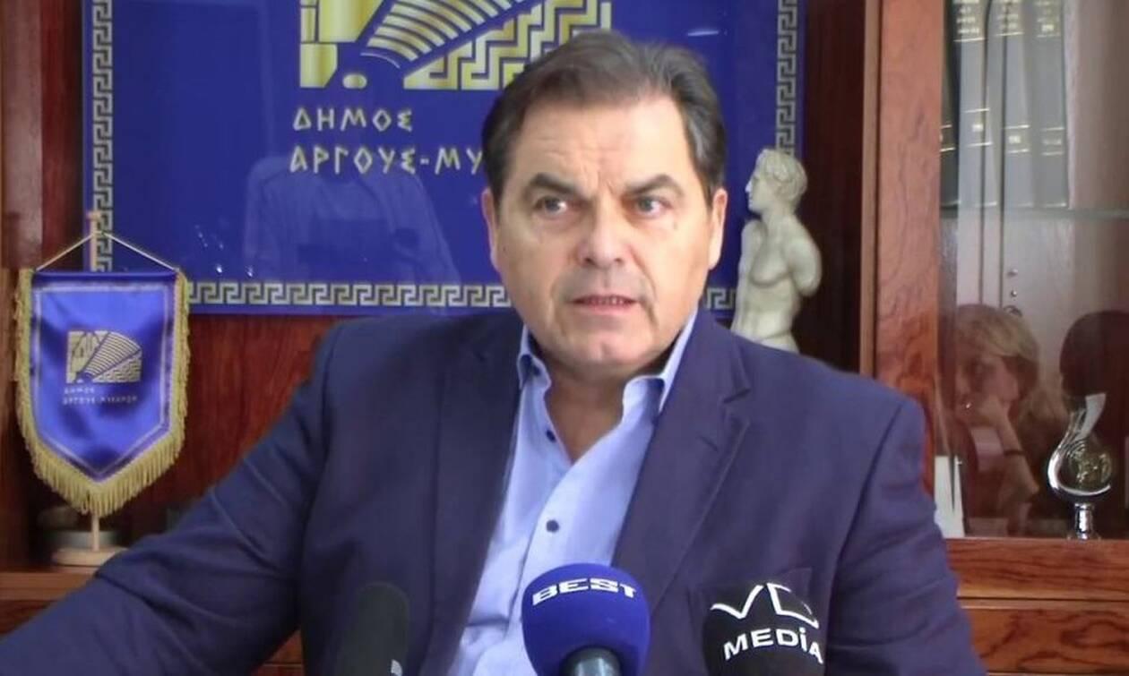 Αποτελέσματα Δημοτικών Εκλογών 2019: Για τρίτη θητεία δήμαρχος Άργους - Μυκηνών ο Δ. Καμπόσος