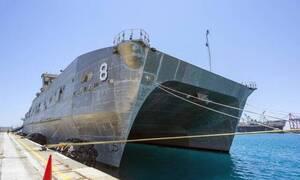 Κύπρος: Tο υπερσύγχρονο πλοίο των ΗΠΑ USNS Yuma στην άσκηση «Αργοναύτης»