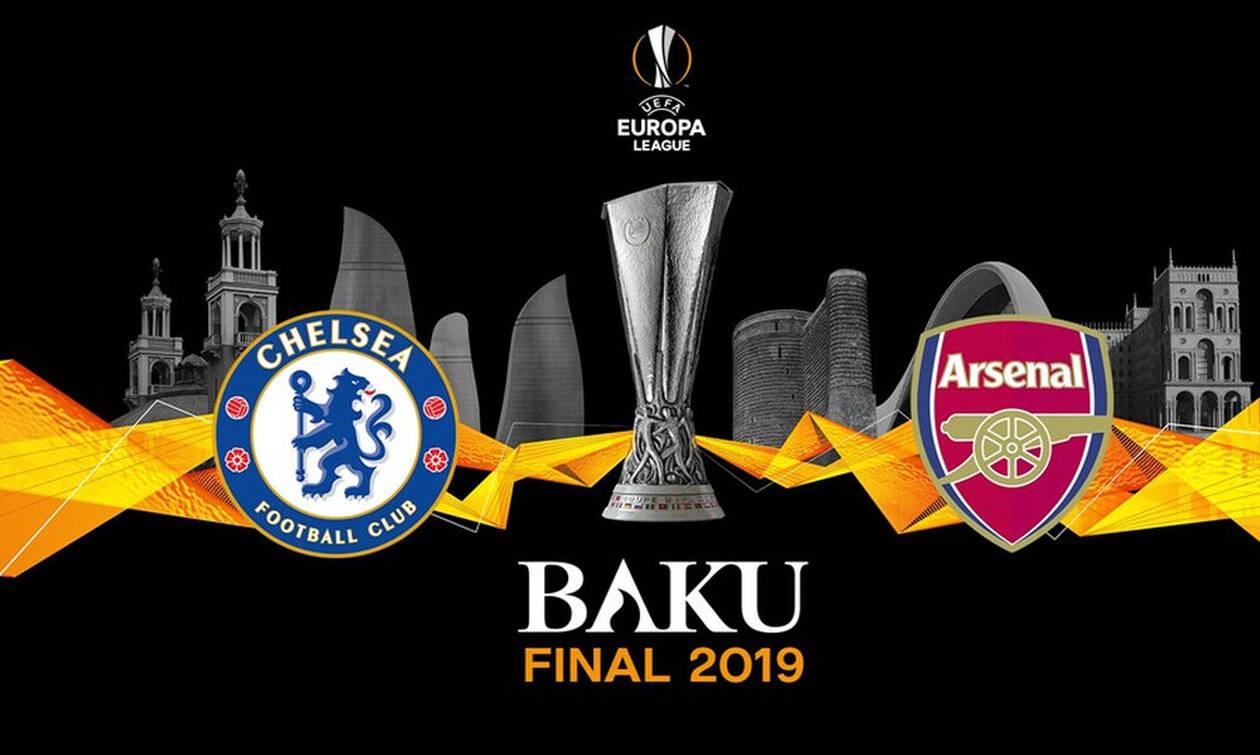 Τελικός Europa League: Αγγλική «μονομαχία» για το «θρόνο» στο Μπακού