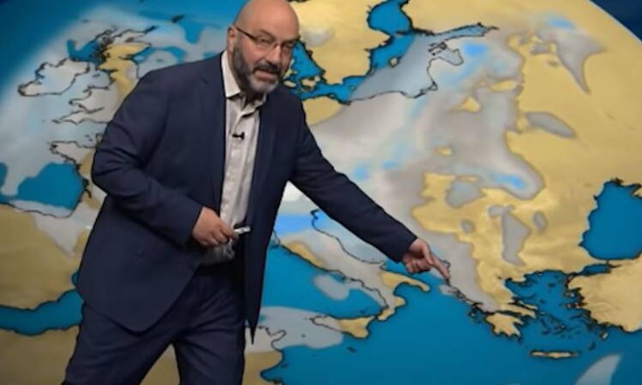 Καιρός: Προειδοποίηση Αρναούτογλου για επιδείνωση το Σαββατοκύριακο... (video)