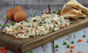 Η συνταγή της ημέρας: Ρώσικη σαλάτα