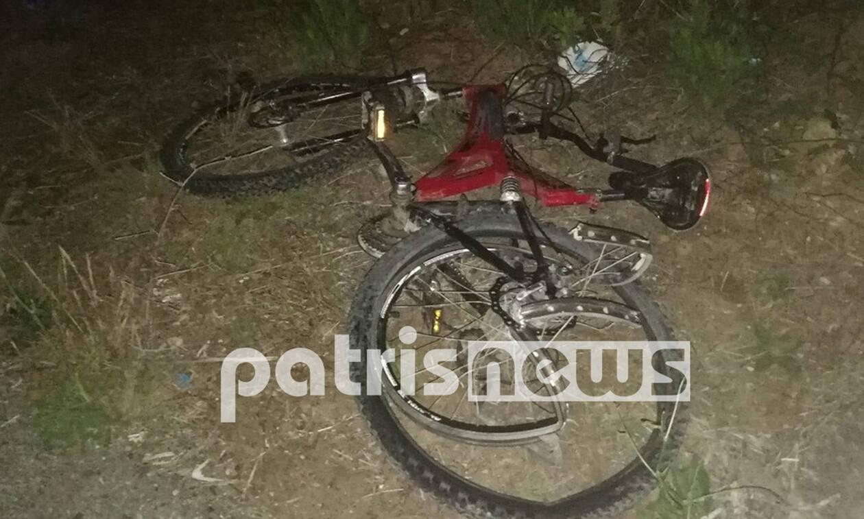 Τραγωδία στην Αμαλιάδα: Νεκρός 16χρονος ποδηλάτης - Παρασύρθηκε από Ι.Χ. (pics)