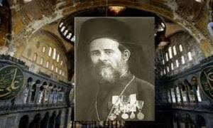 Λευτέρης Νουφράκης: Ο Κρητικός παπάς που λειτούργησε στην Αγία Σοφία 466 χρόνια μετά την άλωση