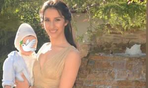 Μαρία Νεφέλη Γαζή: Βάφτισε τον γιο της χωρίς τον Άνθιμο – Το επίθετο του παιδιού θα συζητηθεί (pics)