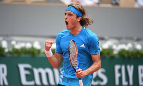 Roland Garros: Ο Τσιτσιπάς νίκησε τον Ντελιέν και συνεχίζει (photos)