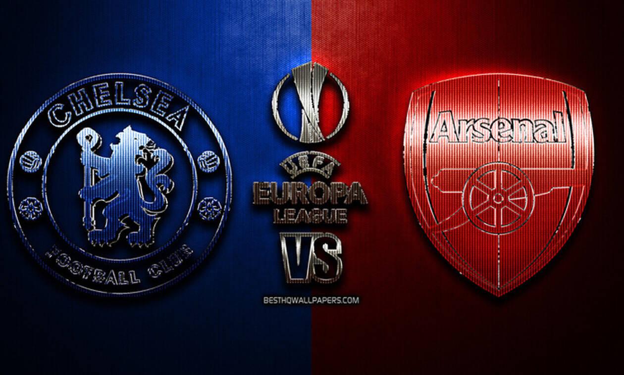Τσέλσι - Άρσεναλ Live: Ο μεγάλος τελικός του Europa League στο Μπακού