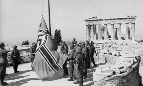 30 Μαΐου 1941: Πώς Γλέζος και Σάντας κατέβασαν από την Ακρόπολη τη γερμανική σημαία (pics+vid)