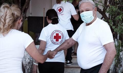 Ερυθρός Σταυρός: 2.555 επισκέψεις της Κινητής Μονάδας Νοσηλείας στις πυρόπληκτες περιοχές